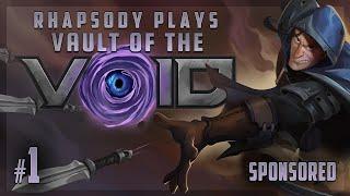 :) A :) DECKBUILDER :) ROGUELIKE :) | Rhapsody Plays Vault of the Void - Episode 1 [SPONSORED]