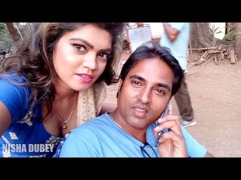 Nisha Dubey | On Location | Bhojpuri Movie | Gadar 2 | Love You All....