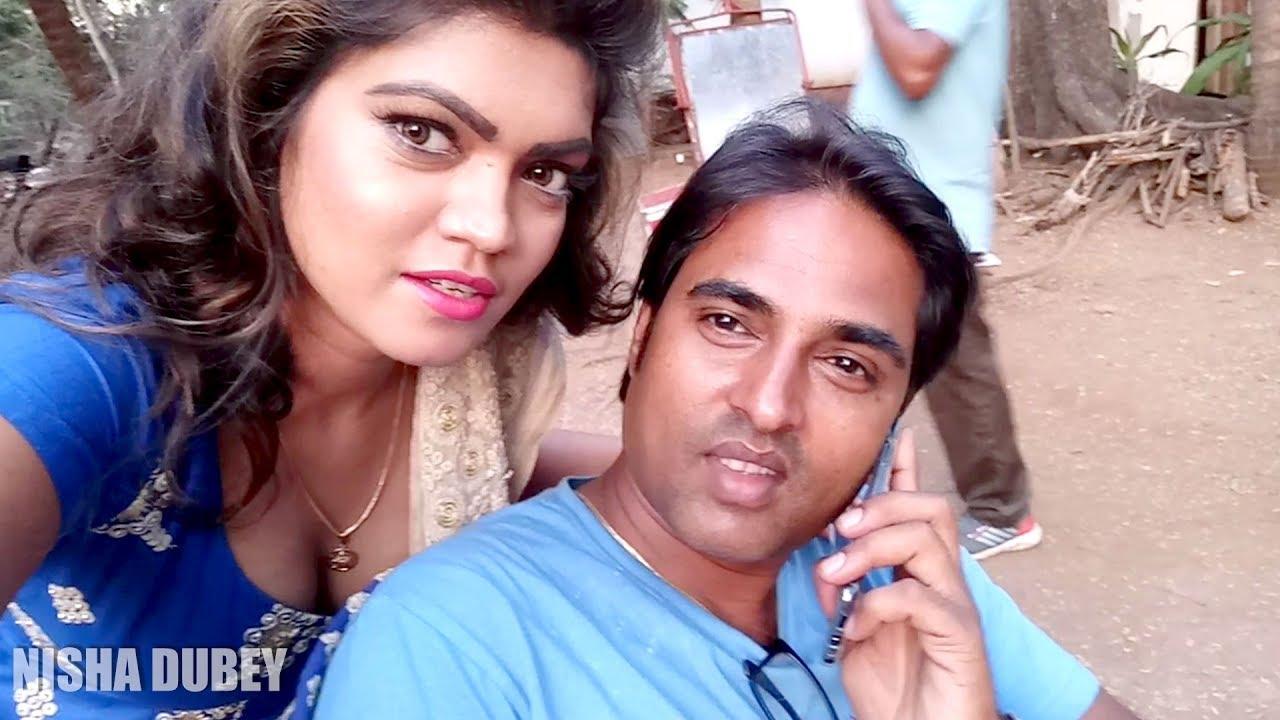 Download Nisha Dubey | On Location | Bhojpuri Movie | Gadar 2 | Love You All....