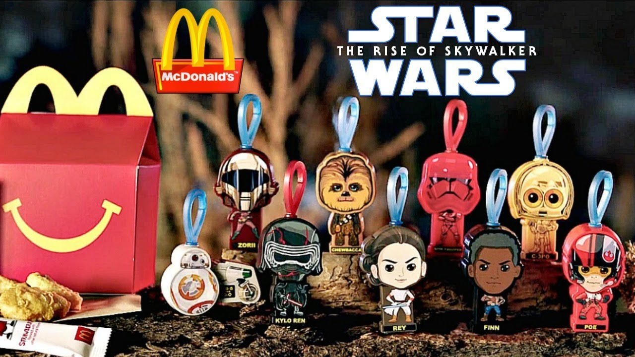 McDONALDS HAPPY MEAL STAR WARS    2019 STAR WARS  HAPPY MEAL BOX