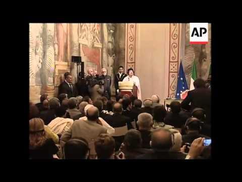 Gadhafi in Senate, FM comments on visit