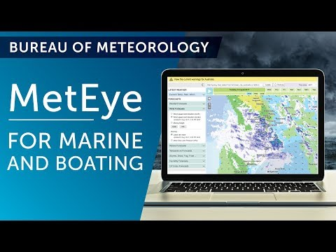 MetEye - for marine and boating
