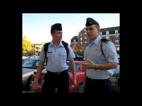 det 158 air force rotc how to wear service dress youtube