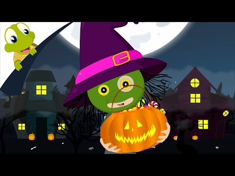 Trick or Treat Halloween Song | Give me something good to eat | Haunted House | Halloween Night
