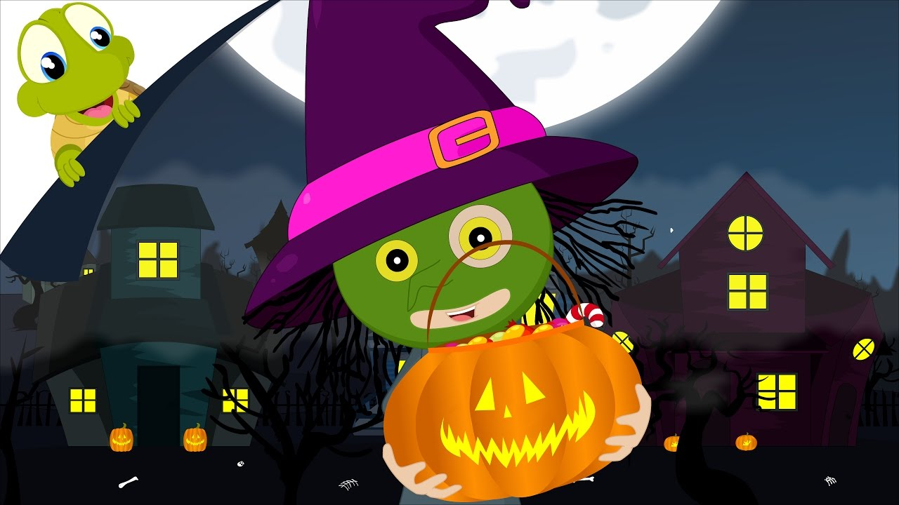 trick or treat halloween song | give me something good to eat