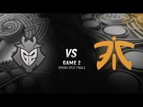 G2 vs. FNC | Final Game 2 | EU LCS Spring Split | G2 Esports vs. Fnatic (2018)