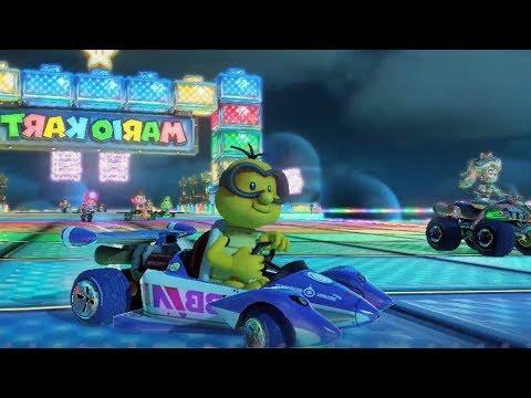 Mario Kart 8 - Triforce Cup - Mirror Mode (Lakitu Gameplay)
