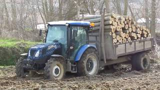 Traktör Çıkarma New Holland TT 4.75 ve TT 4.65