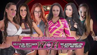 Women of Honor Wednesday - 6 Woman Tag Team match from Pittsburgh
