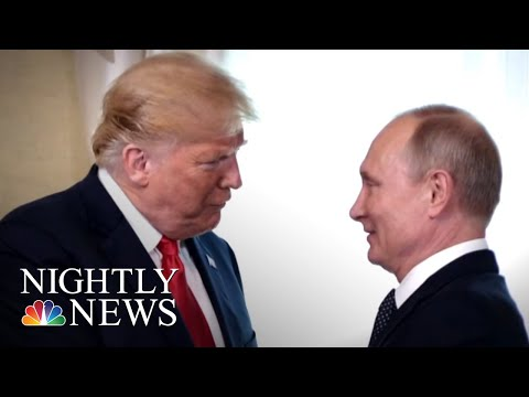 President Donald Trump Invites Vladimir Putin For One-On-One At White House | NBC Nightly News