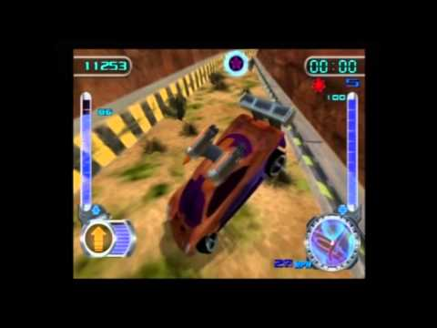 Hot Wheels Velocity X HD 100% Walkthrough W/Commentary - Joyride: Turbine Sands