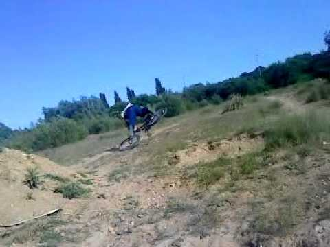 Tom goodman epic bike fail lol
