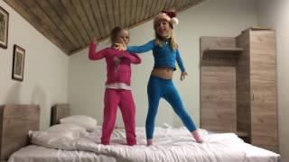 Первый самостоятельный танцевальный номер Ники и Насти