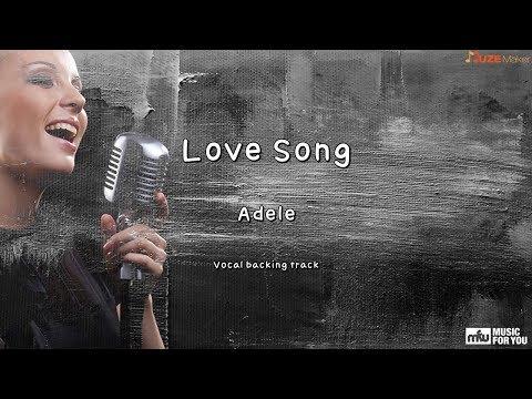 Love Song - Adele (Instrumental & Lyrics)