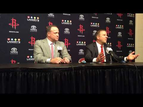 Tilman Fertitta officially introduced as the Houston Rockets owner