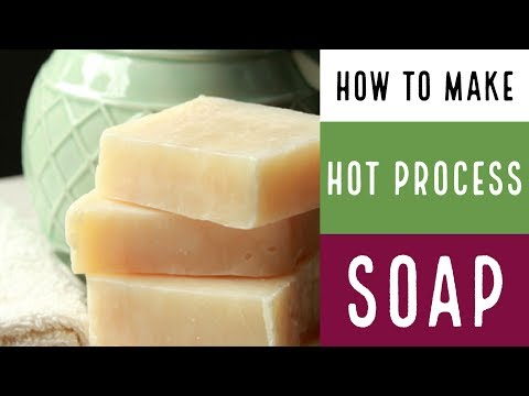 How to Make Hot Process Soap with recipe Oatmeal and Honey and Tea Tree/ How To Make Soap