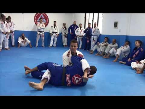 Guilherme Iunes  ensina defesa do armlock com passagem de guarda na GB Curicica