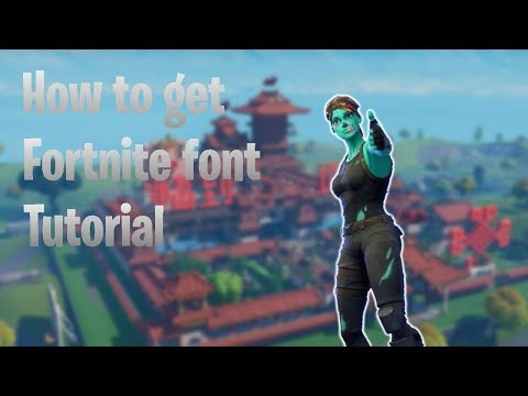 Download How To Get Fortnite Font On Any Phone And Pc Read