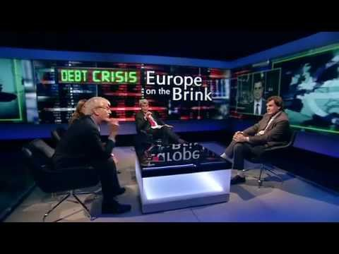 Peter Oborne insults EU bot - Newsnight 2011