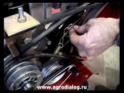 МОТОБЛОК КАДВИ - YouTube