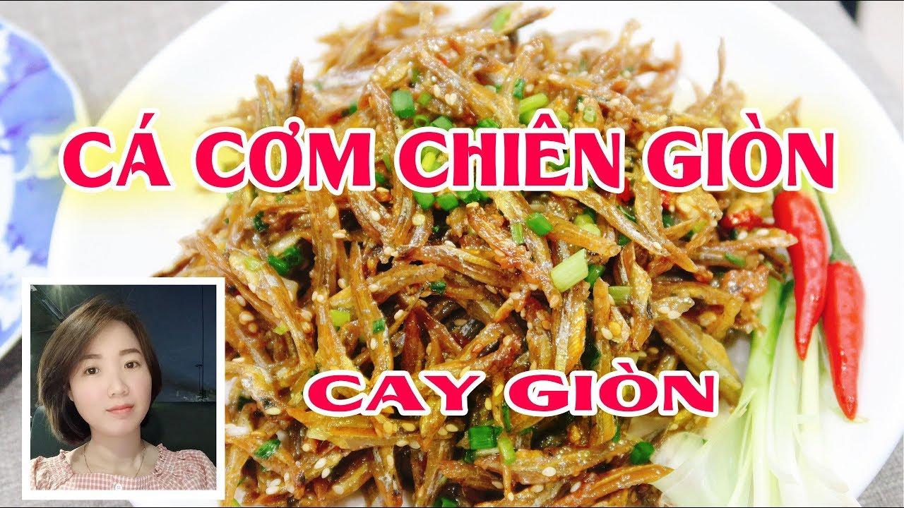 Vlog 15 - Cá Cơm Chiên giòn, đừng nghĩ không ngon - Cooking With Jang
