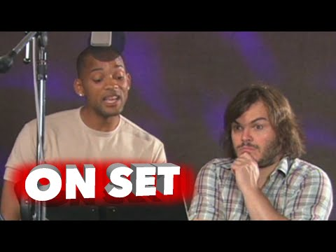 Shark Tale: Behind The Scenes Movie Broll - Will Smith, Jack Black