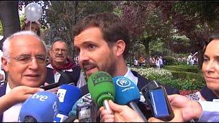 """Pablo Casado califica como """"enfermedad social"""" el veto de Bildu"""