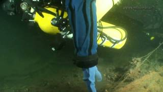 Wreck Diving in the Baltic Sea - U-boat 272 at 72m