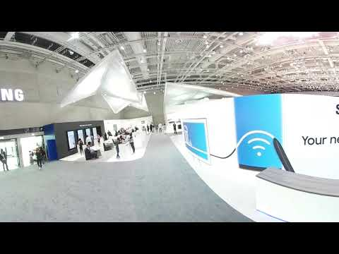 IFA 2017 - A 360 Tour In Samsung's Booth