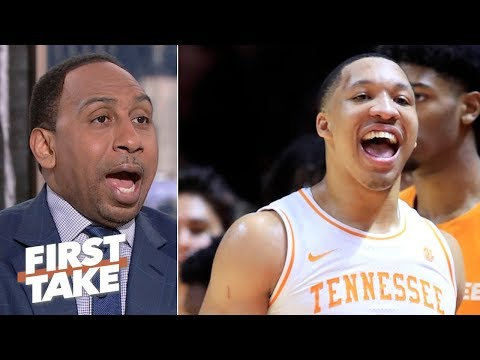 It's 'crazy' to underestimate Tennessee in the NCAA Tournament - Stephen A. | First Take