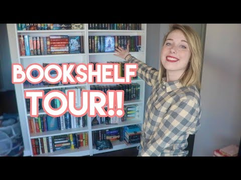 BOOKSHELF TOUR 2017!! (300+ Books!!)