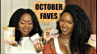 OCTOBER FAVES | 2019