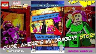 Lego Marvel Superheroes 2: Gwenpool Mission 3 / Dude, Where
