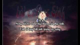 Bài Ca Phục Sinh  - karaoke playback - http://songvui.org