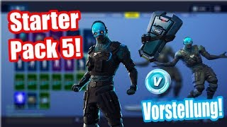 Starter Pack 5 is here! | Starter Pack 5 Skin Cobalt Presentation! | Fortnite Battle Royale