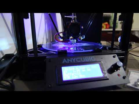 Magnetic Ball Joints for the Anycubic Kossel Delta 3D Printer