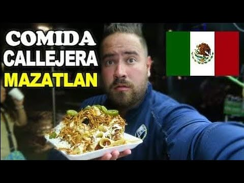 PROBANDO COMIDAS CALLEJERAS DE MEXICO