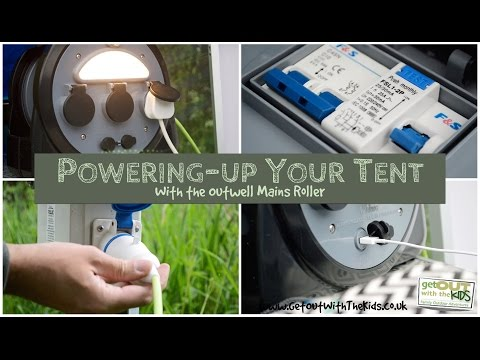 camping electrical hook up halfords