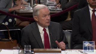 Sessions won't comment on whether he felt misled by Trump on Comey firing | Sessions testifies