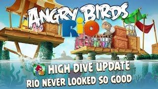 Angry Birds Rio - Rovio Entertainment Ltd ROCKET BUMBLE Level 10-15