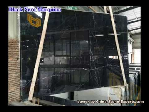Black Marquina Marble Slab for Bathroom Vanity tops and Wall Tiles- China-Stone-Experts.com