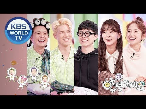 Guests : Norazo(Jobin&Onehm), Seol Ina, Lee Hyeseong, Giriboy [Hello Counselor/ENG, THA/2018.12.17]