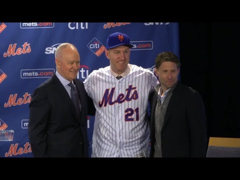 New York Mets introduce new 3B Todd Frazier at Citi Field