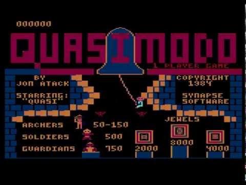 Nostalgia Quasimodo Atari 800xl Youtube