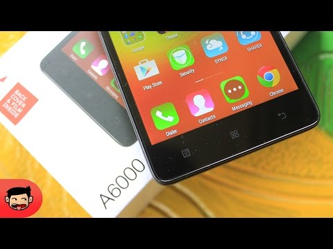 Unboxing Lenovo A6000