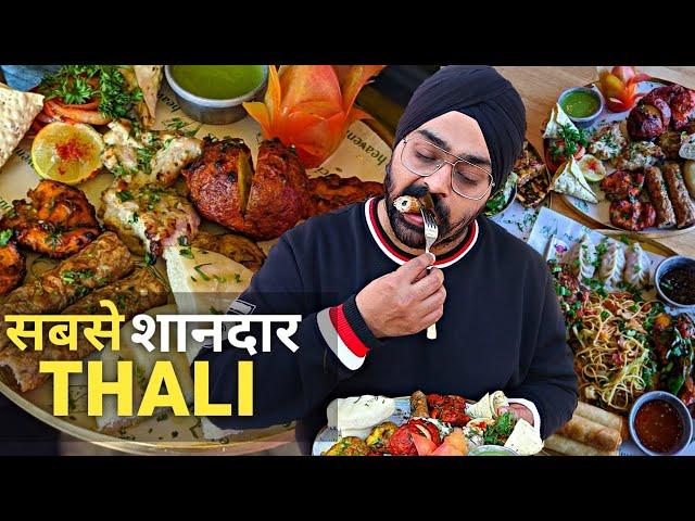 Delhi's BEST KEBAB Newabi & Desi Chinese Thaliyan  🍗🔥