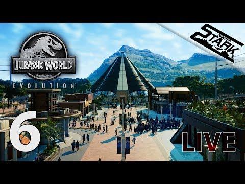 Jurassic World Evolution - 6.Rész (Giganotosaurus, Majungasaurus és sok más) - Stark LIVE