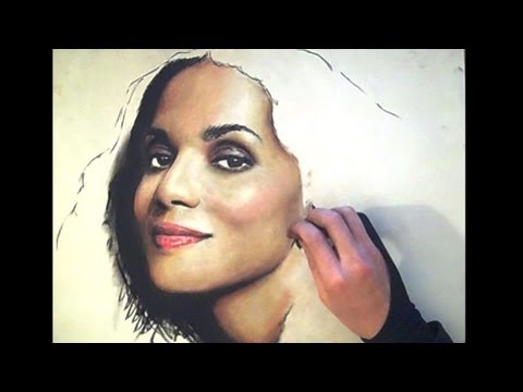 2nd-time-this-artist-tried-color---halle-berry-pastel-portrait