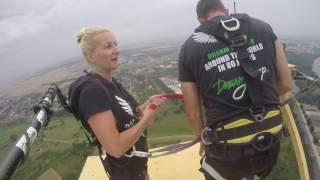 Skok na bungee - Głogów Poland Dream Jump 222m
