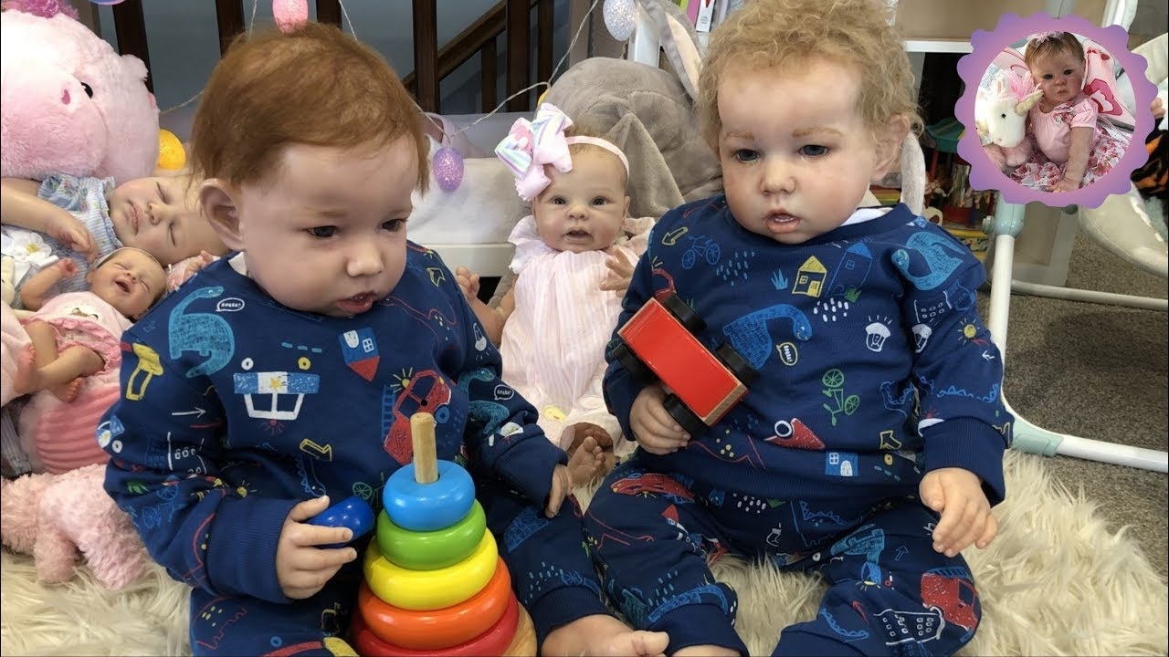 REBORN TODDLER TWINS OPEN GIFTS For Happy Mail Monday ...